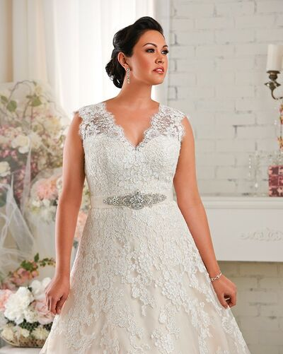 Everly & Opal Plus Size Bridal