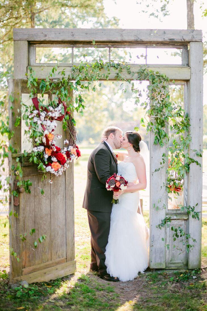 Brittany and Blake's Romantic Georgia Celebration