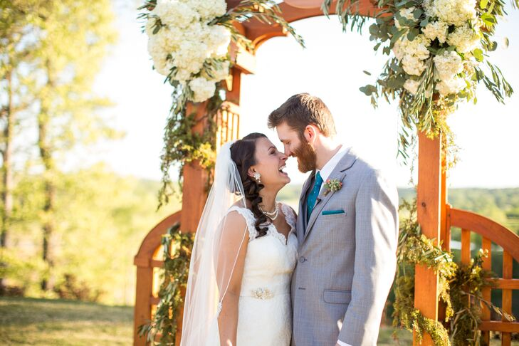 Colleen and Sean's Garden Ceremony
