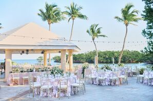 Outdoor Reception at Ocean Reef Club in Key Largo, Florida