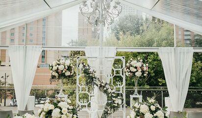Wedding Venues Texas Houston The Grove Front Photo