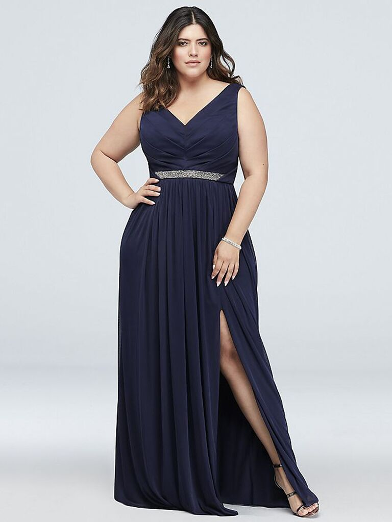 ec834ea7a77 Plus-Size Bridesmaid Dresses You ll Love
