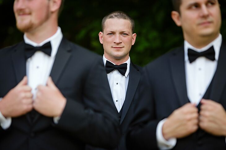 Groom Before the First Look