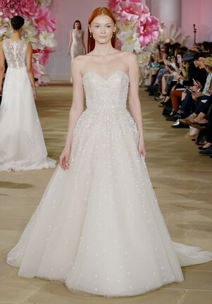 Ines Di Santo Luster A-Line Wedding Dress