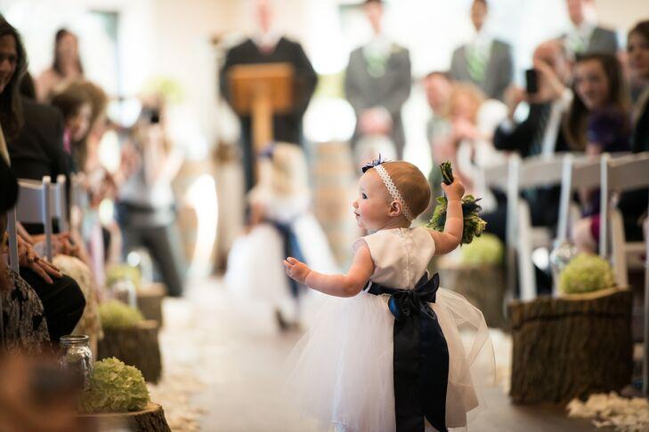 Whimsical Tulle Flower Girl Dress