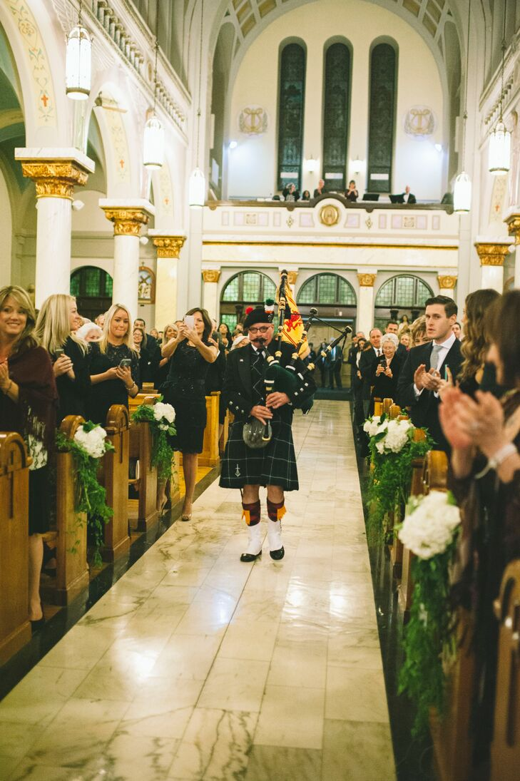 Ceremony Procession Bagpiper