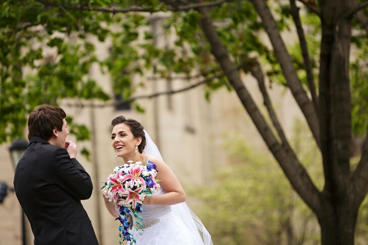 Erin Plazek (24 and a software developer) and Sean Schellinger (24 and a software engineer) met at the University of Pittsburgh in 2011. Although they