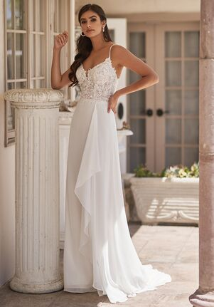 Moonlight Tango T923 A-Line Wedding Dress