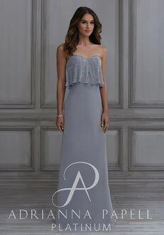 Adrianna Papell Platinum 40127 Sweetheart Bridesmaid Dress