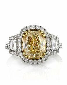 Mark Broumand Glamorous Cushion Cut Engagement Ring