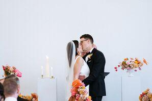 Modern, Classic First Kiss