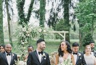 """Christina Varela (27 and a physician) and Ricardo Diaz (34 and the owner of a digital marketing agency) may have said """"I do"""" in Pennsylvania, but the"""