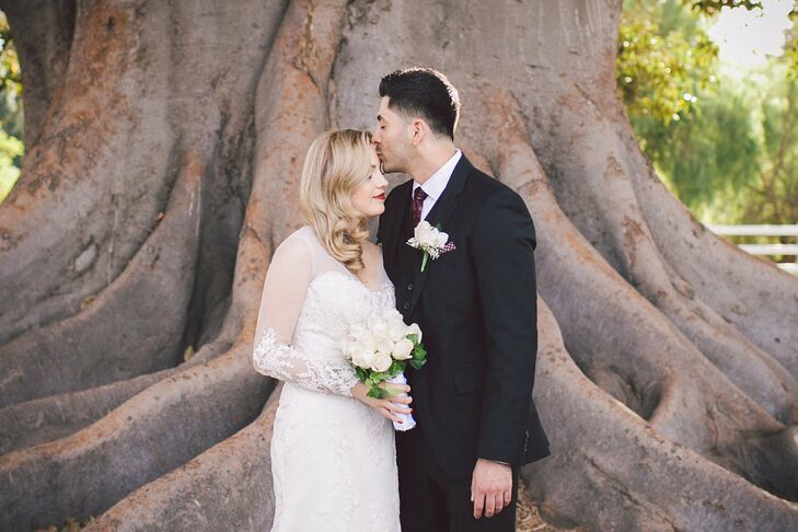 Irene and Emmanuel married in a modern, elegant celebration with subtle elements honoring their Mexican heritage at Camarillo Ranch in Camarillo, Cali