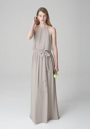 Bill Levkoff 1267 Square Bridesmaid Dress