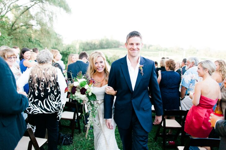 Crane Creek Vineyards Outdoor Ceremony