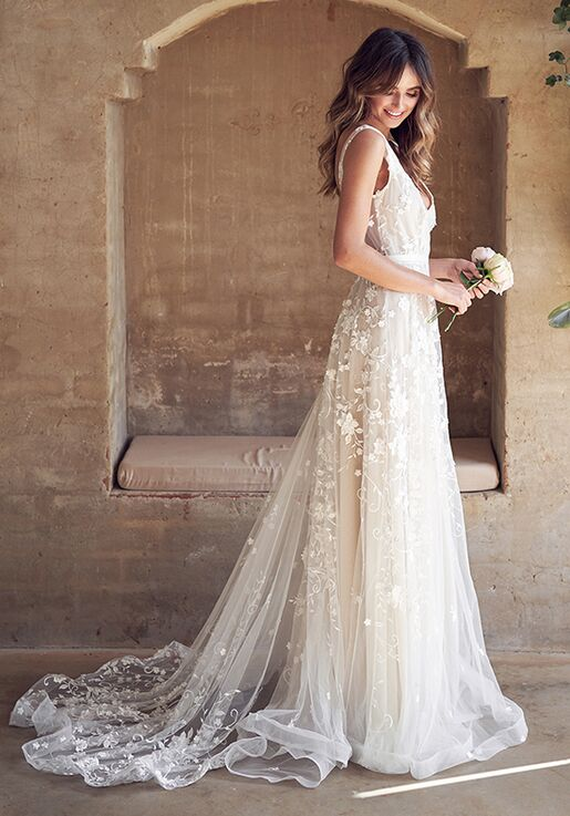 e2715ef0f3 Anna Campbell Amelie Dress Wedding Dress   The Knot