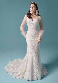 Maggie Sottero CLARETTE Sheath Wedding Dress