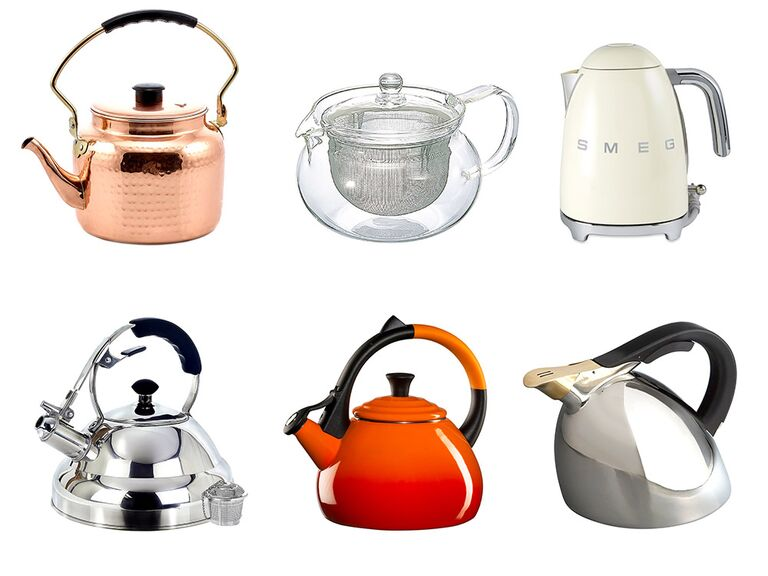 Gl Copper Stainless Steel And Electric Tea Kettles