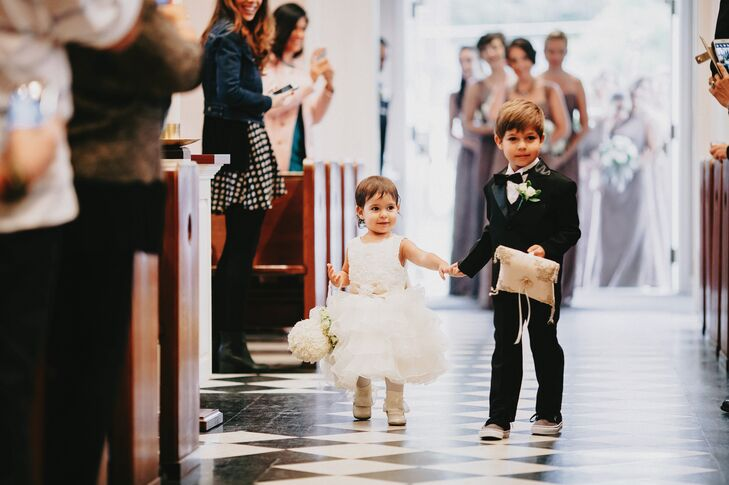 383a80c3d4 Classic Ring Bearer and Flower Girl Attire