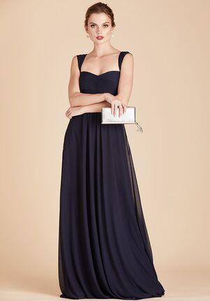 Birdy Grey Maria Convertible Dress in Navy Sweetheart Bridesmaid Dress