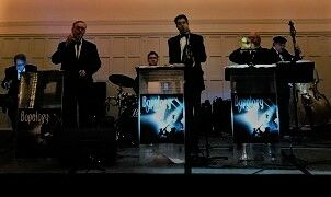 Bopology Swing Wedding Band and Invisible DJ