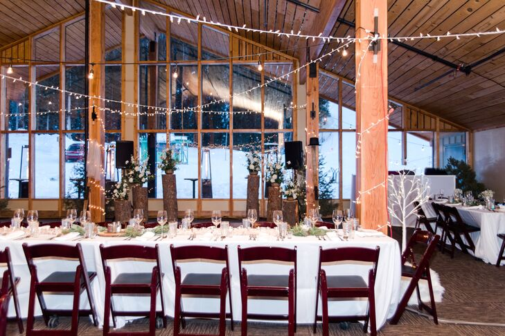 Rustic Mountain Lodge Reception