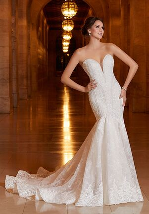 Morilee by Madeline Gardner Athena Mermaid Wedding Dress