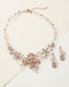 USABride Swarovski Fantasy Jewelry Set (JS-1385) Wedding Necklace photo
