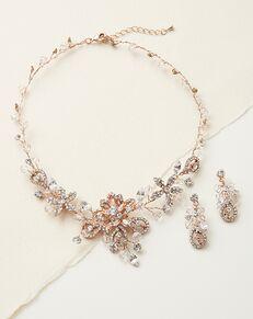 Dareth Colburn Swarovski Fantasy Jewelry Set (JS-1385) Wedding Necklace photo