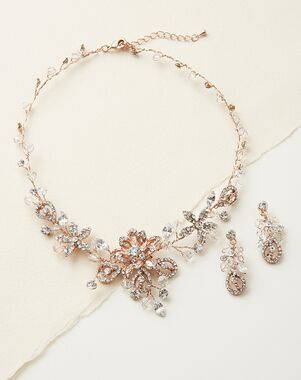 Dareth Colburn Swarovski Fantasy Jewelry Set (JS-1385) Wedding Necklace photo