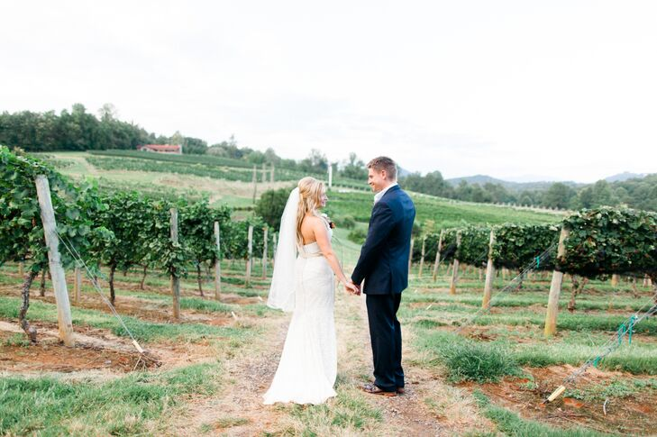 "My father had passed away earlier in the year and during his illness, the vineyard became a place for my family to get away from it all,"" says Cory. ""It was a place that held so much beauty and also held some great memories of spending time with my dad there."