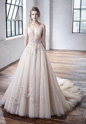 Badgley Mischka Bride Cheryl A-Line Wedding Dress