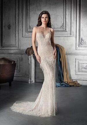 Demetrios 802 Sheath Wedding Dress