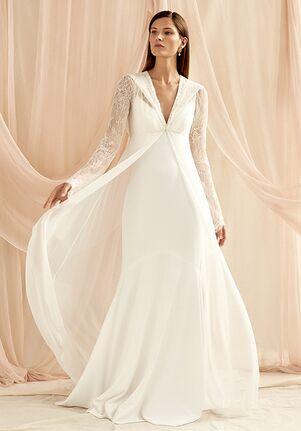 Savannah Miller MARION CAPE Sheath Wedding Dress