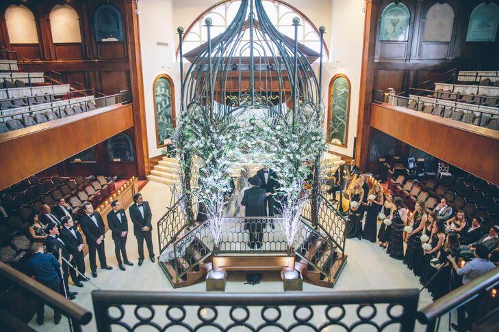 A Glamorous Jewish Wedding at Soho Beach House in Miami