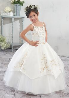 Mary's Angel by Mary's Bridal MB9012 Red Flower Girl Dress