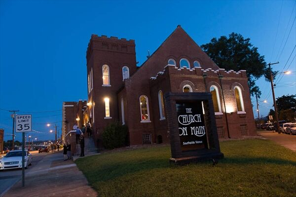 The Church On Main Street Southside Venue Reception
