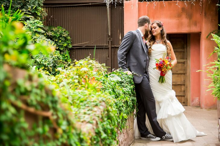 A Vibrant Mexican Inspired Wedding At Aunt Chiladas Mexican