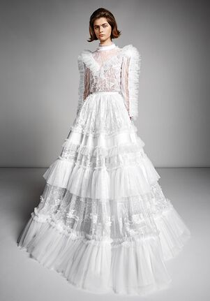 Viktor&Rolf Mariage ETHEREAL LACE PATCHWORK GOWN Ball Gown Wedding Dress