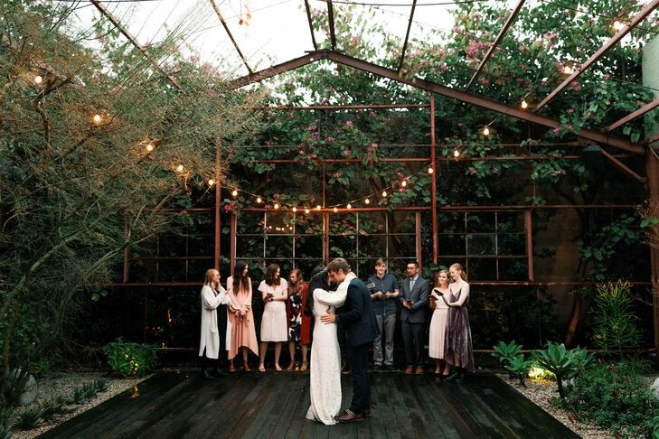 First Dance During Wedding at Elysian in Los Angeles