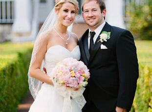 Mutual friends introduced Katie Courtney (26 and a physician assistant) and Seth Tucker (28 and a physician assistant) at a pool party. After graduate