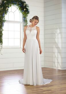 Essense of Australia D2822 A-Line Wedding Dress