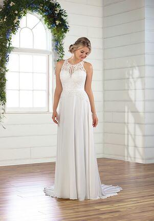 Essense of Australia D2822 A-Line Wedding Dress