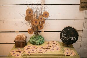 DIY Lavender Plantable Wedding Favors
