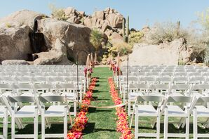The Ceremony's Bold Floral Pops
