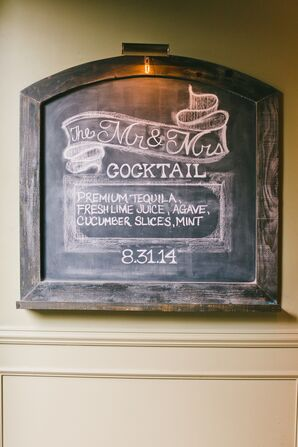 Cocktail Lounge Blackboard