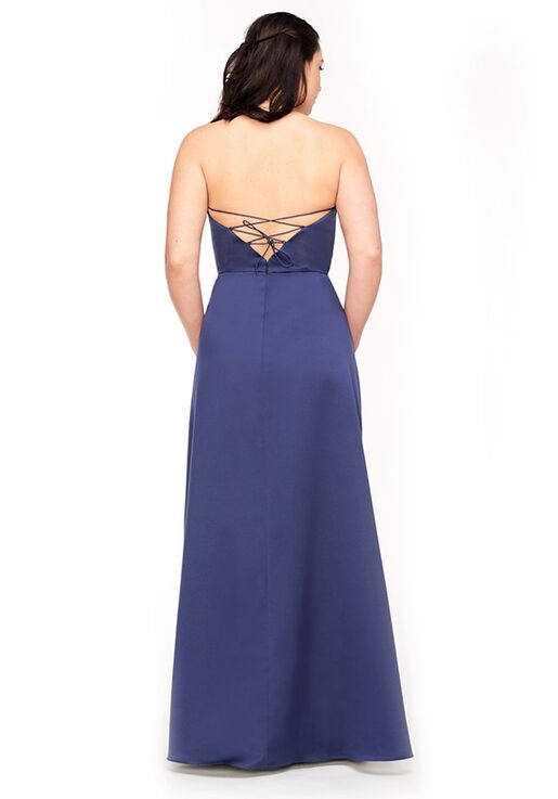 Bari Jay Bridesmaids 1975 Strapless Bridesmaid Dress
