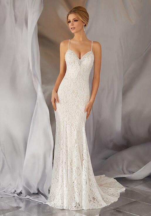 Morilee By Madeline Gardner Voyage Moraia Style 6868 Sheath Wedding Dress