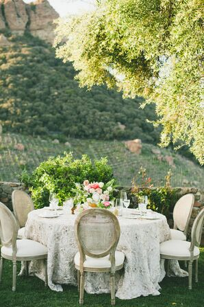 Saddlerock Ranch Reception With Parisian Flair