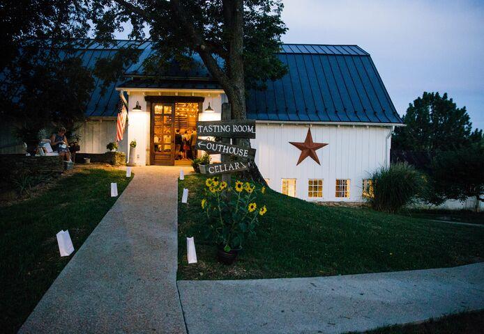 The Barns at Hamilton Station Vineyards   Reception Venues ...